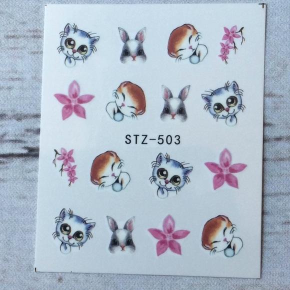 Makeup | Cat Nails Decals Stickers | Poshmark